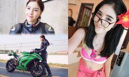 """สุดน่ารัก! """"น้องเก๋"""" สาวนักบิดสังกัด X-speed Racing Team (อัลบั้ม)"""