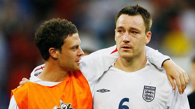 """""""การปฏิเสธการจับมือที่สะท้านโลกฟุตบอล"""" เวย์น บริดจ์ vs จอห์น เทอร์รี่"""