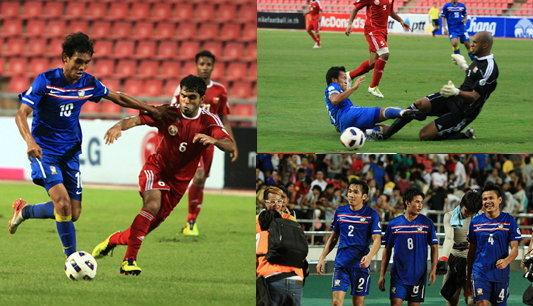ชื่นชมผลงานนักเตะทีมชาติไทย