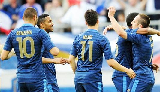 ฝรั่งเศสอุ่นเครื่องไล่ทุบเซอร์เบีย2:0