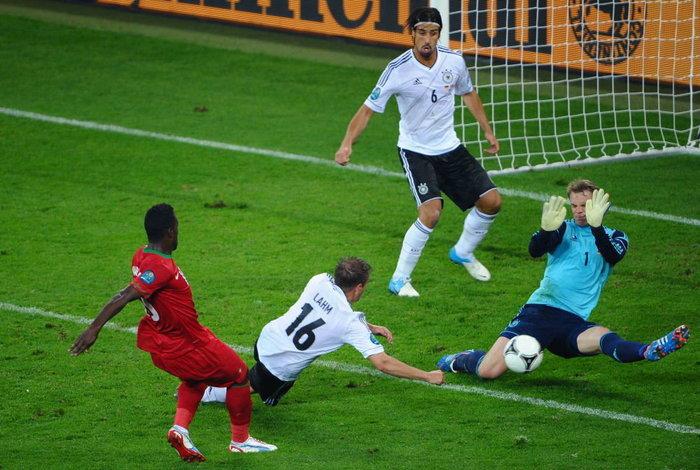 ประมวลภาพ เยอรมัน ชนะ โปรตุเกส 1-0