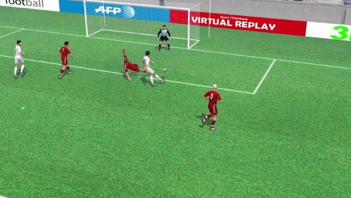 คลิปไฮไลท์ยูโร2012 3D โปรตุเกส นำ เดนมาร์ก 2-0