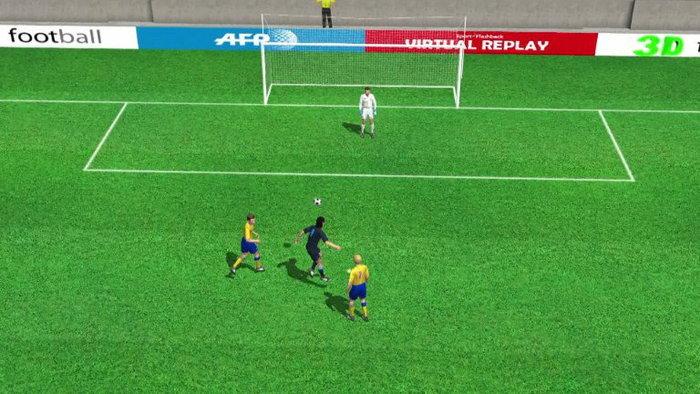 คลิปไฮไลท์ยูโร2012 3D อังกฤษ นำ สวีเดน 1-0