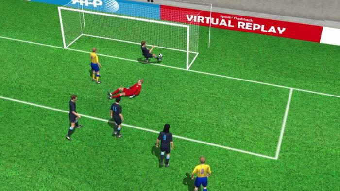 คลิปไฮไลท์ยูโร2012 3D สวีเดน ตีเสมอ อังกฤษ 1-1