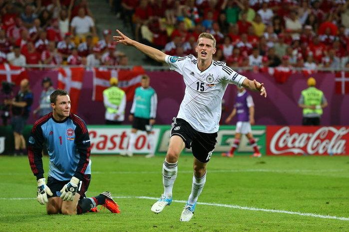 ประมวลภาพ เยอรมัน ชนะ เดนมาร์ก 2-1