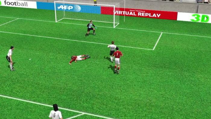 คลิป  เยอรมัน นำ เดนมาร์ก 2-1