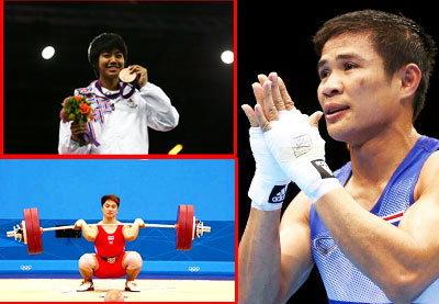 ประมวลภาพนักกีฬาไทยในโอลิมปิก 2012