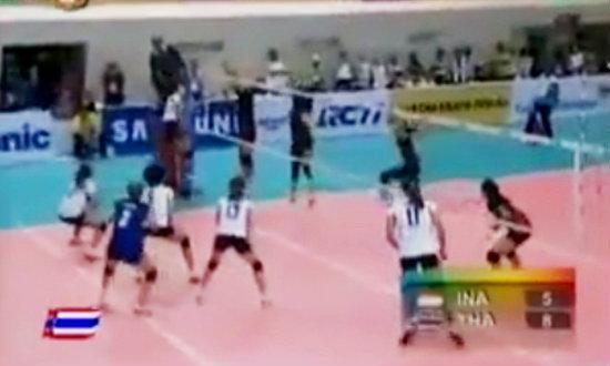 คลิปซีเกมส์ วอลเลย์บอลหญิงทีมชาติไทย vs อินโดนีเซีย