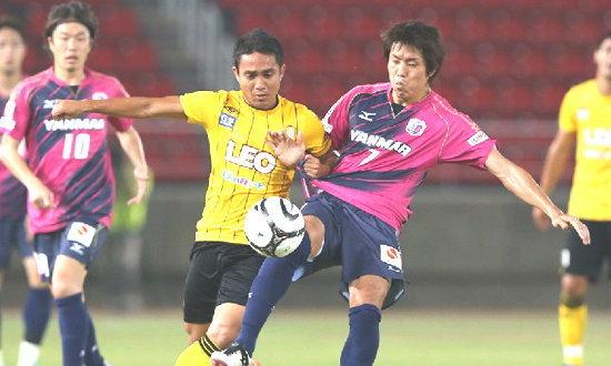 เซเรโซ่เบิ้ลท้ายเกมแซงชนะบีจี 2-1 เกมอุ่นเครื่อง