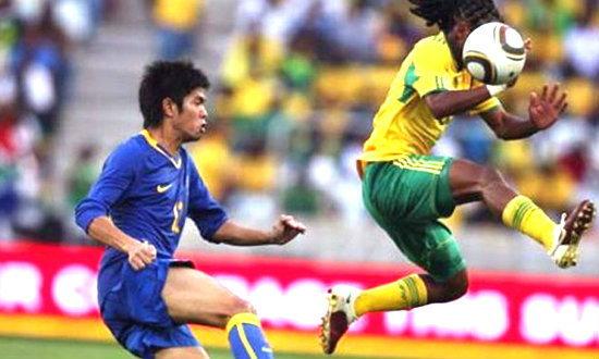 รอยเตอร์แฉเกมอุ่นเครื่องแอฟริกาใต้-ไทยมีเอี่ยวล้มบอล
