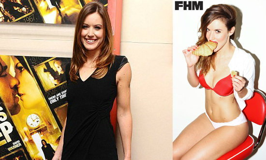 ฮือฮา!เว็บสเตอร์ นักข่าวสาวอังกฤษแอบถ่ายFHM+คลิป