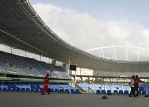 บราซิล ปิดสนามโอลิมปิก 2016 ซ่อมหลังคา