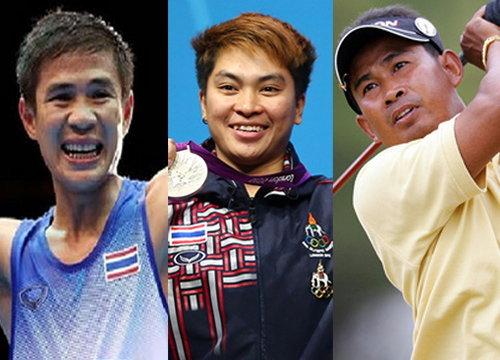 แก้ว-พิมศิริ-ถาวร ซิวนักกีฬายอดเยี่ยม 2555