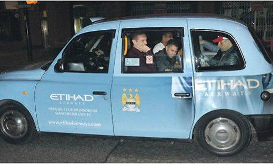 เอติฮัดทำฮาลงรูปแข้งผีนั่งแท็กซี่แฟนเรือใบ