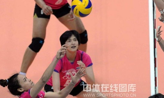 วอลเลย์สาวไทยคืนฟอร์มเจ๋ง ถล่มเปอร์โตริโก3-0 ศึก4เส้าแดนมังกร