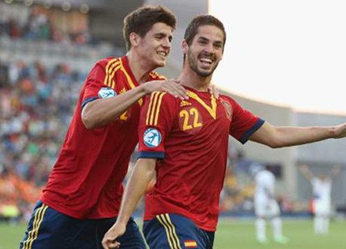 สเปนถล่มฮอลฯ3-0,เยอรมัน1-0รัสเซียศึกU21