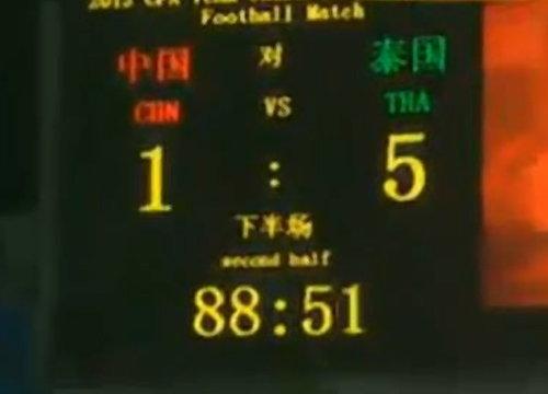 เหลือเชื่อ!ซิโก้นำทีมชาติไทยบุกถล่มจีน5-1