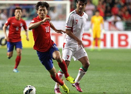 อิหร่านบุกเฉือนโสมขาว1-0จูงกันไปบอลโลก