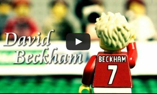 สุดเจ๋ง!  LEGO สร้างคลิปประวัติของ เบ็คแฮม+คลิป