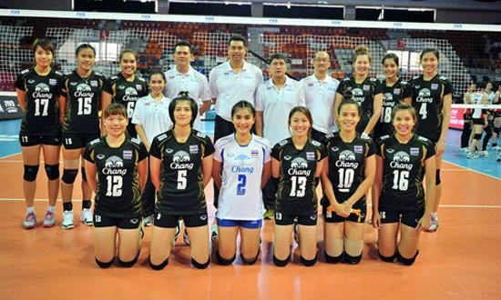 วอลเลย์บอลสาวไทยเจ๋ง! ชนะมองโกเลีย 3-0 เซต