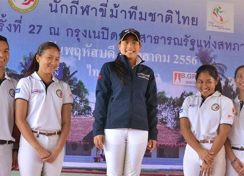 องค์หญิง เสด็จร่วมทัพนักกีฬาในพิธีเปิดซีเกมส์