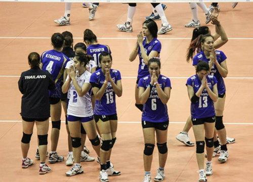 ลูกยางสาวไทยรั้งอันดับที่12โลก-ชายที่34โลก