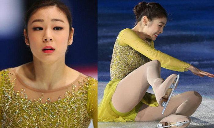 """วับๆแวมๆ! แอบส่องภาพชุด """"คิม ยุน-อา"""" นางฟ้าสเก็ตล้มกลางลาน (อัลบั้ม)"""