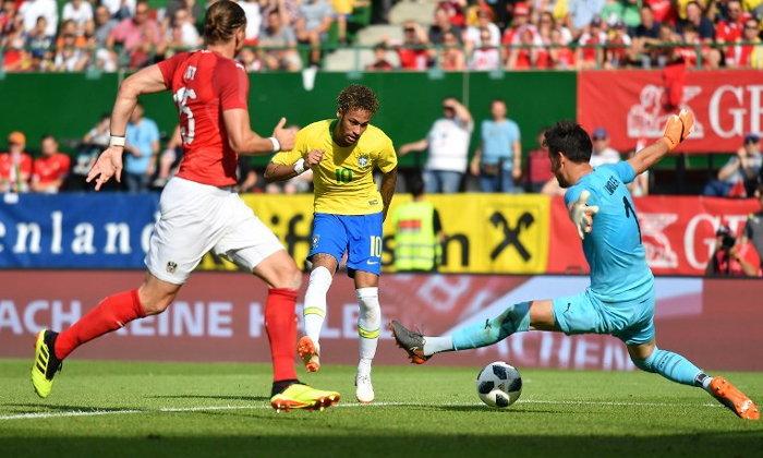 เนย์มาร์ยิงโคตรเหนือ! บราซิล ถล่ม ออสเตรีย 3-0 เกมลับแข้งนัดสุดท้ายก่อนลุยบอลโลก (คลิป)