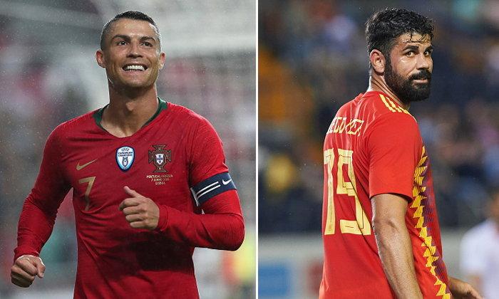 """พรีวิวฟุตบอลโลก 2018 กลุ่มบี : """"โปรตุเกส VS สเปน"""""""