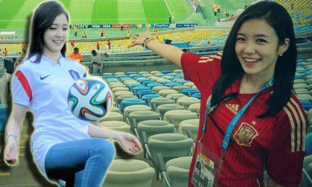 รักจุงเบย! จาง เย วอน นักข่าวสาวเกาหลีในบอลโลก