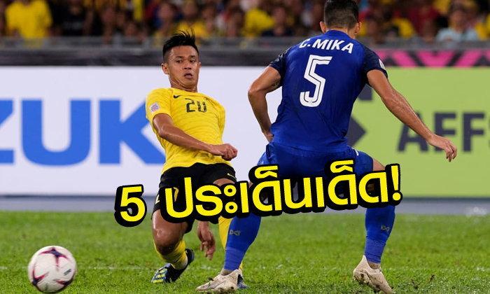 """5 ประเด็นร้อนหลังเกม """"เสือเหลือง 0-0 ช้างศึก"""" เอเอฟเอฟ ซูซูกิ คัพ 2018"""