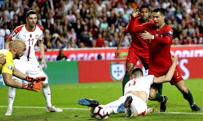 ฝืดจัด! โปรตุเกส ยังไร้ชัย ได้เเค่เจ๊า เซอร์เบีย 1-1 บอลคัดยูโร