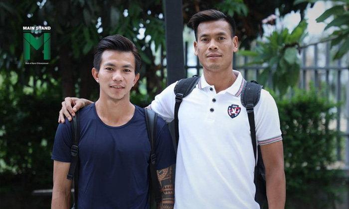 ซอ มิน ตุน และ สี ธู อ่อง : สองแรงงานเมียนมาบนพื้นหญ้าสนามฟุตบอล