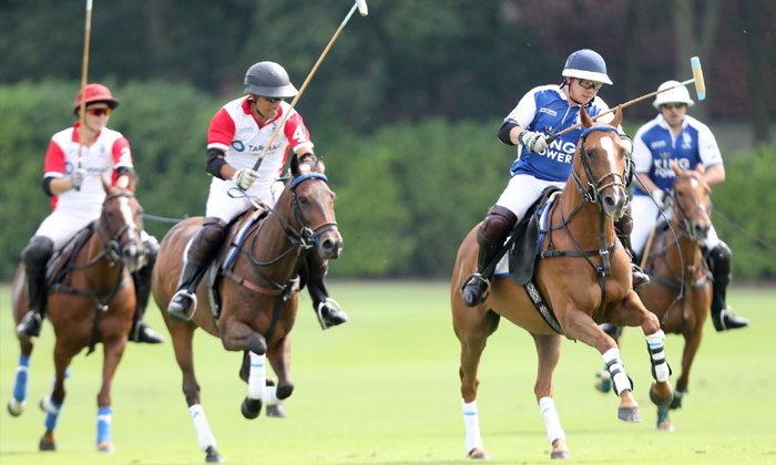 """""""King Power"""" คว้าชัย ขี่ม้าโปโลการกุศล สุดยิ่งใหญ่แห่งปี ที่อังกฤษ"""