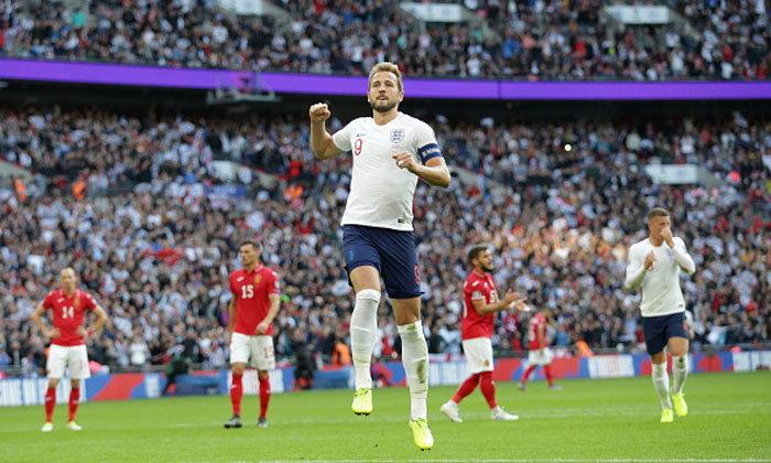 """""""เคน"""" แฮตทริก! อังกฤษ เปิดรังถล่ม บัลแกเรีย 4-0 คัดยูโร 2020"""