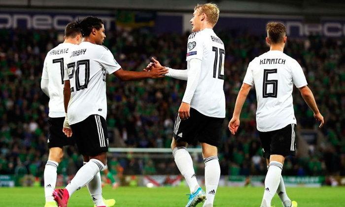 เยอรมัน บุกทุบ ไอร์แลนด์เหนือ 2-0 คัดยูโร กลุ่ม ซี