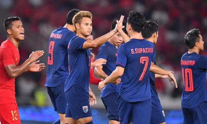 เรียกศรัทธา! ทีมชาติไทย บุกถล่ม อินโดนีเซีย 3-0 เก็บชัยคัดบอลโลก