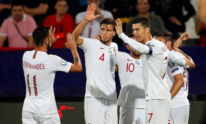 """""""เจ็ตโด้"""" สี่เม็ด! โปรตุเกส บุกถลุง ลิธัวเนีย 5-1 นำจ่าฝูงกลุ่มบี คัดยูโร"""