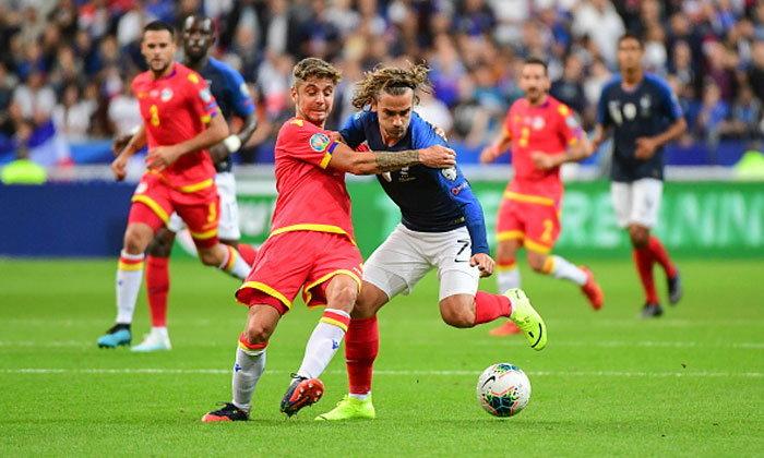 สบายเท้า! ฝรั่งเศส ไล่ขยี้ อันดอร์รา 3-0 นำฝูงกลุ่มเอช คัดยูโร