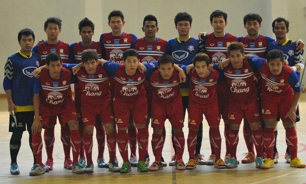 ฟุตซอลไทยประกาศชื่อ14นักเตะป้องกันแชมป์อาเซียน