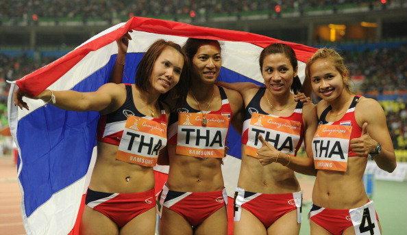 4x100ไทย กับเหรียญทองสุดระทึกเมื่อ4ปีก่อน