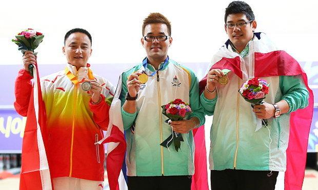 เฮสนั่น! ญาณพล คว้าเหรียญทองโบว์ลิ่งให้ทัพกีฬาไทย+คลิป