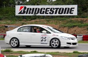 ยางบริดจสโตนโชว์ศักยภาพ ในงาน Honda Racing 2010