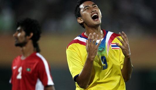 แข้งไทยฝืดเจ๊ามัลดีฟส์0-0เข้าที่2อชก.