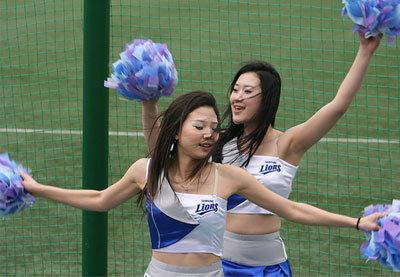พริ้วไปกับ Samsung Lion Cheerleaders