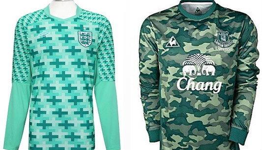 สื่อสับยับ เสื้อใหม่ทีมชาติอังกฤษ-เอฟเวอร์ตันห่วยแตก!