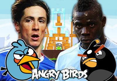 จับนักกีฬามาใส่เกมส์ (angry birds)