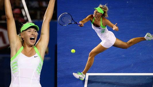 มาเรีย ชาราโปว่า ทะลุชิง เทนนิสออสเตรเลียน โอเพ่น