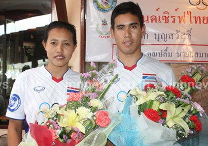 2นักวินด์เซิร์ฟทีมชาติไทยไปโอลิมปิก2012