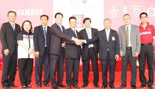 """ยามาฮ่าเปิดศักราชแห่งความมันส์ขั้นเทพ """"YAMAHA FOOTBALL 2012"""""""